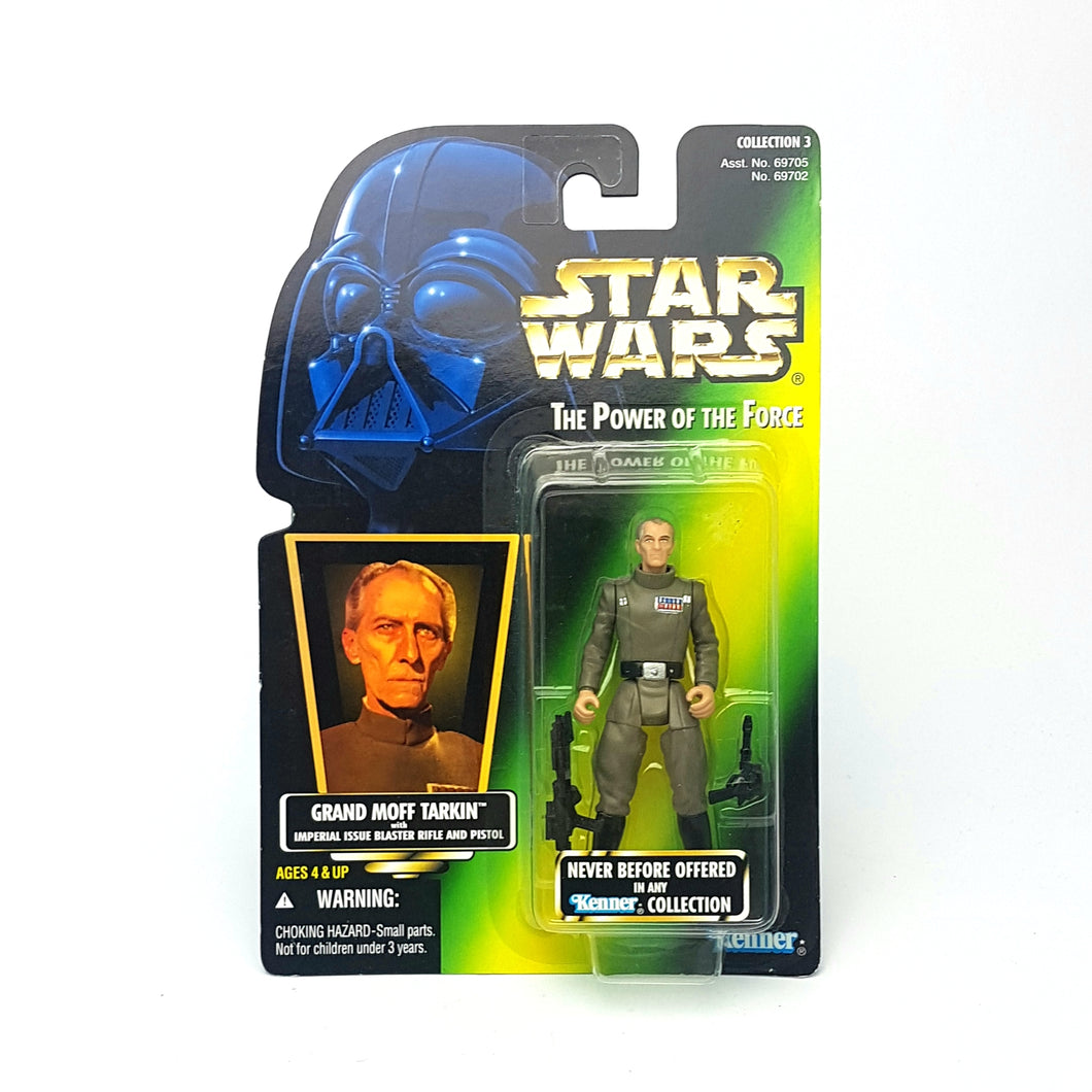 POTF ☆ GRAND MOFF TARKIN Star Wars Power Of The Force Figure ☆ MOC Sealed Carded