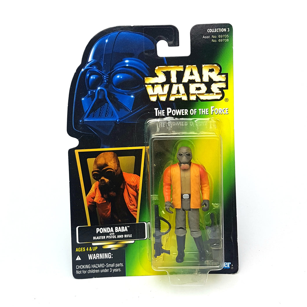 POTF ☆ PONDA BABA Star Wars Power Of The Force Figure ☆ Opened Carded