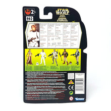 Load image into Gallery viewer, POTF ☆ LUKE SKYWALKER STORM TROOPER Star Wars Power Of The Force Figure ☆ MOC Sealed Carded