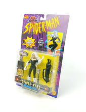 Load image into Gallery viewer, Vintage ☆ BLACK CAT SPIDER-MAN ANIMATED SERIES MARVEL Figure ☆ MOC Sealed Carded Toybiz 90s Original
