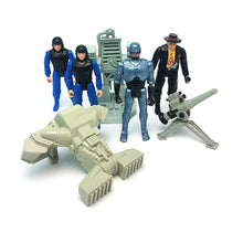 Load image into Gallery viewer, Vintage ☆ ROBOCOP The Series Figure BUNDLE ☆ 4 Ultra Figures 90s Toy Island Police