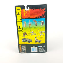 Load image into Gallery viewer, Vintage ☆ KAHEGA CONGO Action Figure ☆ MOC Carded Sealed 90s Kenner