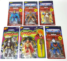 Load image into Gallery viewer, MOTU 6x Master of the Universe Figures Wave 1 Vintage Series ☆ Super 7 JOBLOT