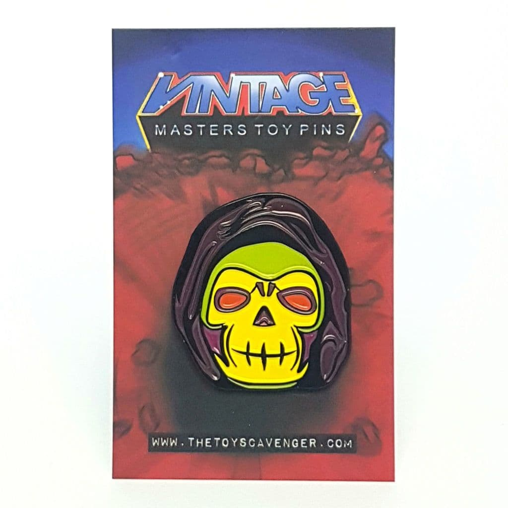 Enamel Pin Badge ☆ Masters Toy Pin - Bone Head