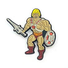 Load image into Gallery viewer, Enamel Pin Badge ☆ Masters Toy Pin - Battle He-Head