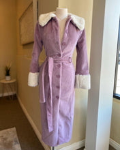 Load image into Gallery viewer, Mauve Fur Coat