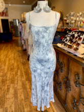 Load image into Gallery viewer, Deep V Back Tie Dye Maxi Dress