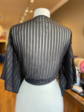 Load image into Gallery viewer, Stripe Sheer Tye Top