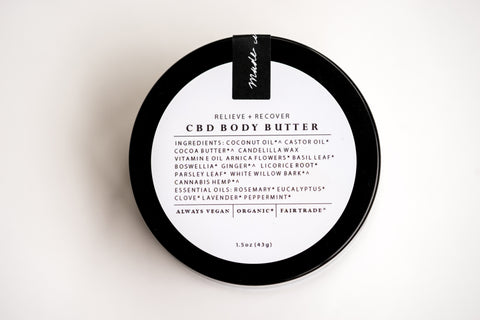 Relieve + Recover Cbd Body Butter