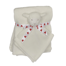 Load image into Gallery viewer, Blanket Set, Blanket and Lovey Pet, Lamb