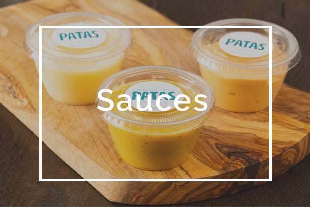 Fresh stone crab sauces to complement your meals, shallot butter sauce, mustard suace with horseradish, mustard sauce, and chipotle mayo sauce