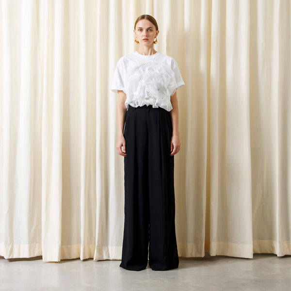 【予約商品】SLIT WIDE PANTS