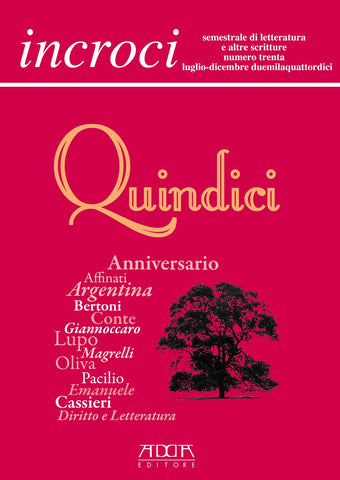 Incroci n. 30 - Quindici