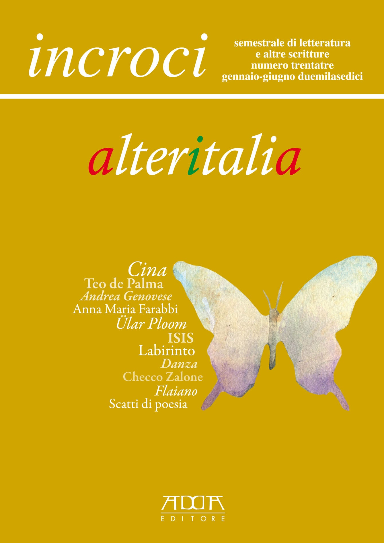 Alteritalia - incroci n. 33 - versione digitale