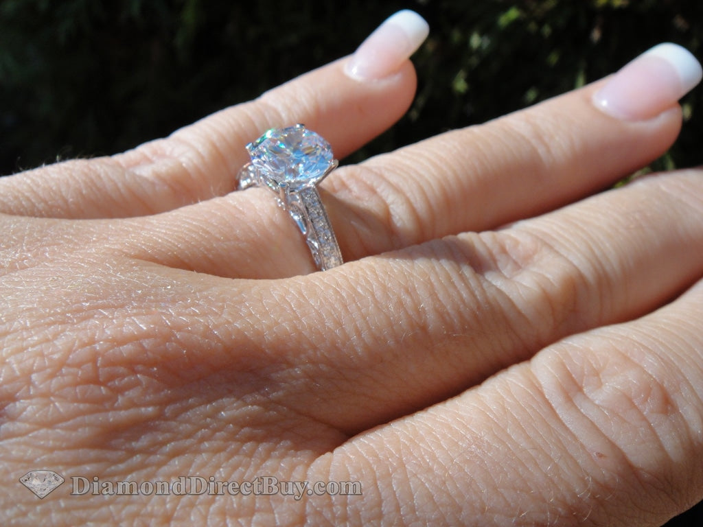 1.81 Simon G Diamond Ring 1.51 Vs2 Ex Center Engagement Rings