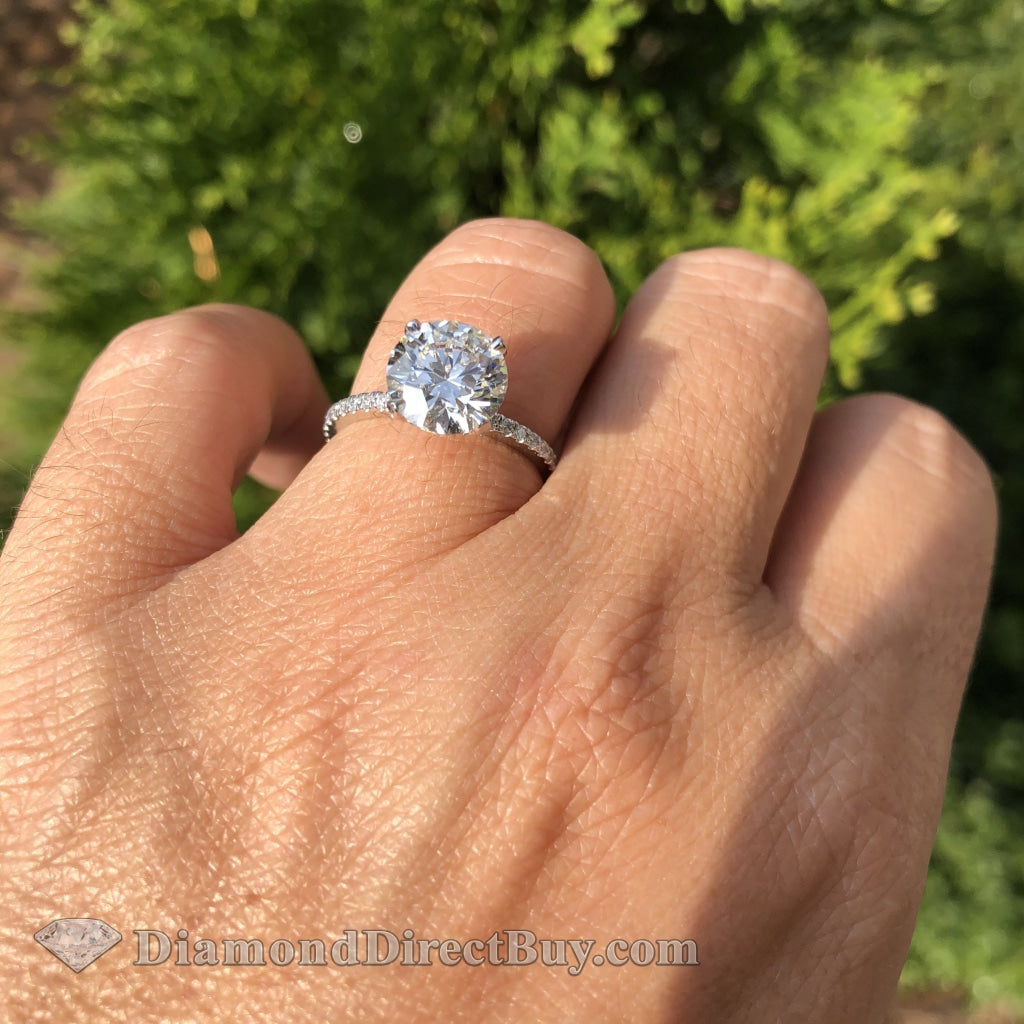 2.51 Diamond Ring 2.01 I Vs1 Gia Center Engagement Rings