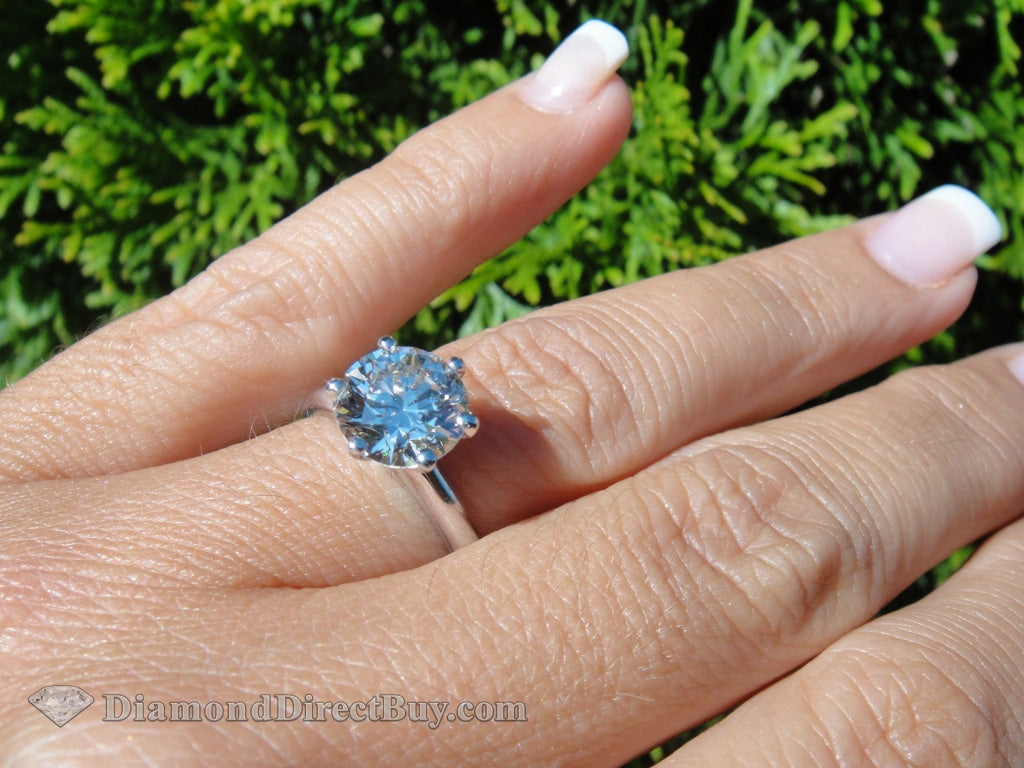 Stunning Platinum Solitaire 2.00I Vs1 Engagement Rings