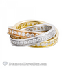 Trio Color Eternity Band Combo
