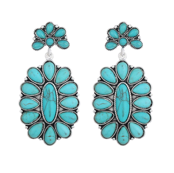 THEA Turquoise Earrings