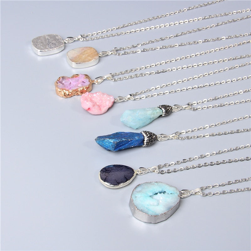 PACIFIC Crystal Necklaces