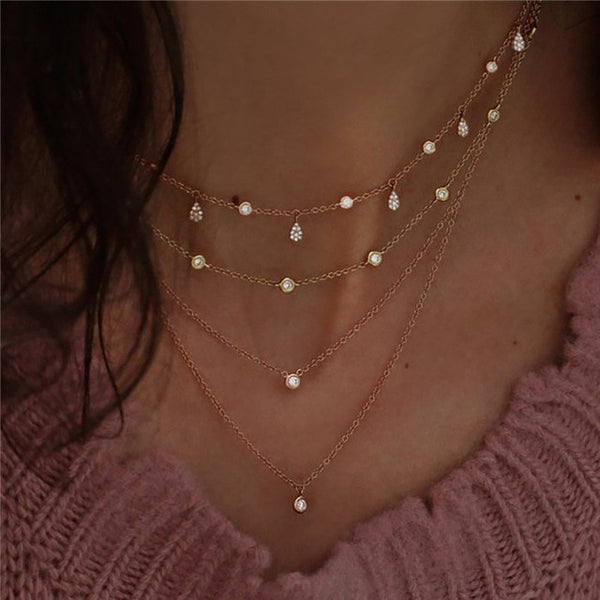 STARCROSSED Layered Necklaces
