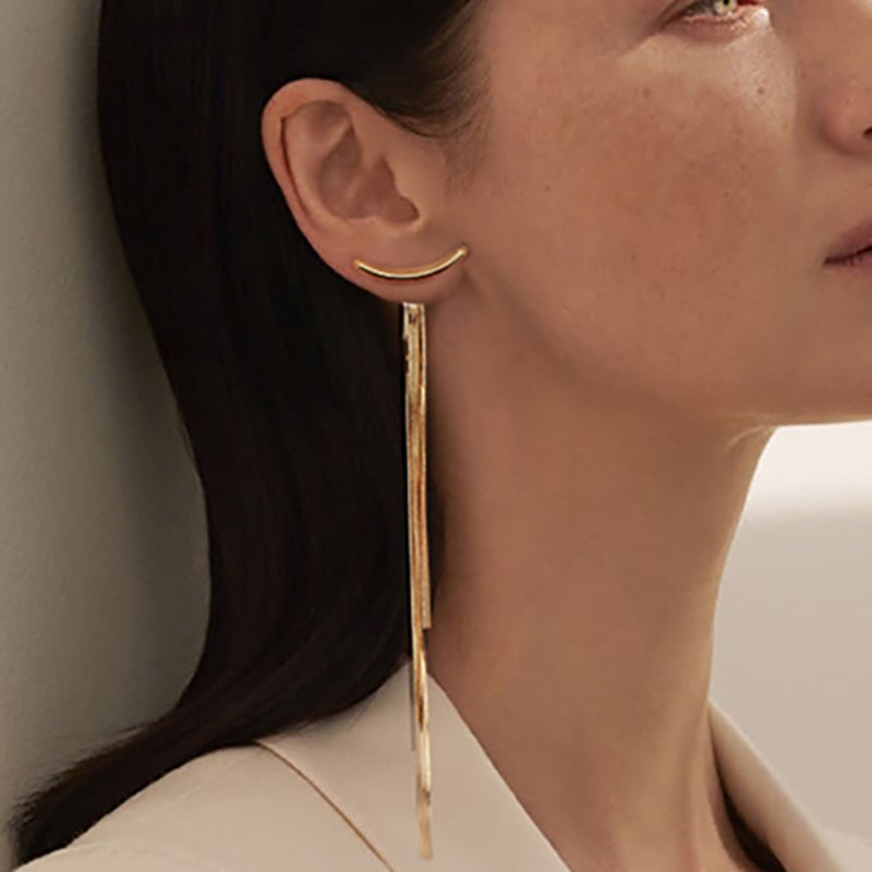 VANESSA Drop Bar Earrings