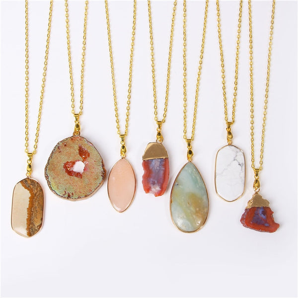 JUPITER Natural Stone Necklaces