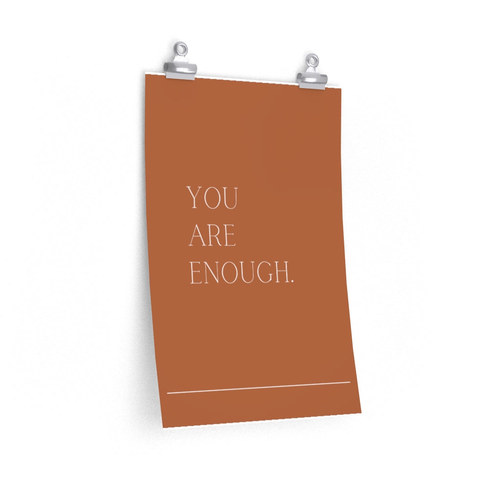 You Are Enough - poster