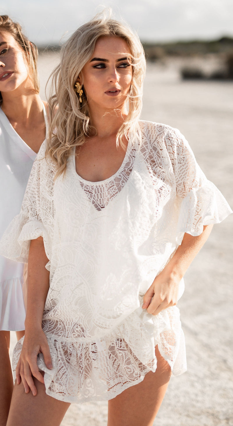 AZTEC LACE SUNDRESS
