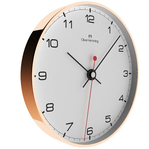 Rose Gold 30cm Simplex Wall Clock - W300R5WTB