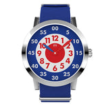 Louis - Stainless Steel with Blue nylon strap - WT18S58RBLNC