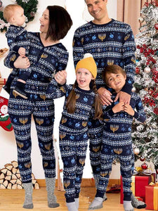 Family Pajamas For Father-Mother-Child-Baby