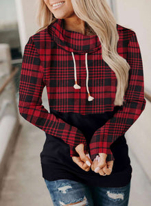 Hot-Selling Fashion Plaid Sweatshirt