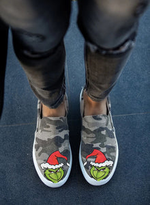 Christmas Camouflage Travel Shoes