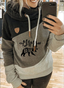 Fashion Solid Long Sleeve Casual Hoodie