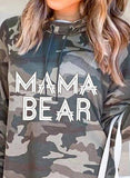 Camouflage Hooded Casual Sweatshirt