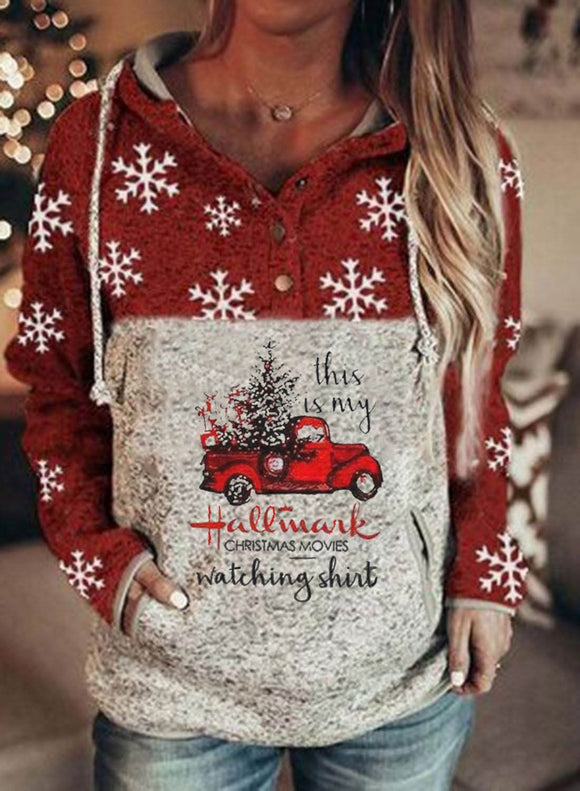 Woman Sweatshirt Christmas Fashion Festival Sweatshirt