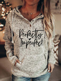 Women's Perfectly Imperfect Christian Hoodie