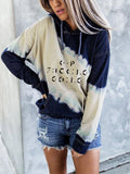 Keep F World Going Morse Code Tie Dye Hoodies