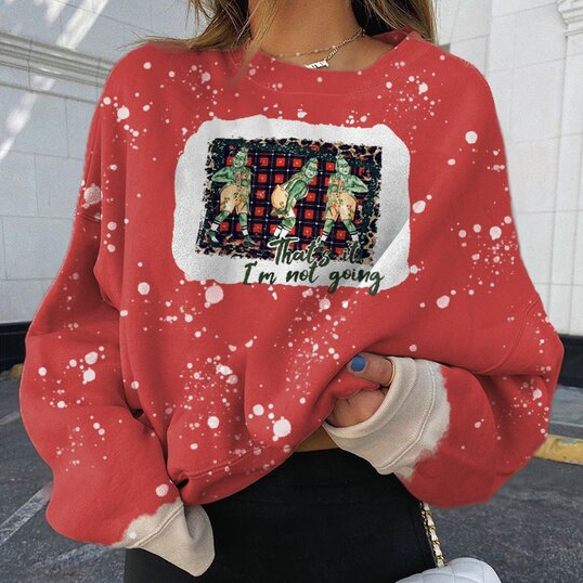 Fashion cartoon printed casual sweatshirt