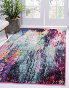 Corban - Watercolor Purple Blend Rug