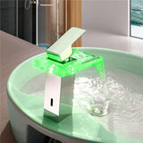 LED Temperature Color Changing Faucet