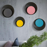 Grais - Modern Nordic Macaroon Moon LED Wall Lamp