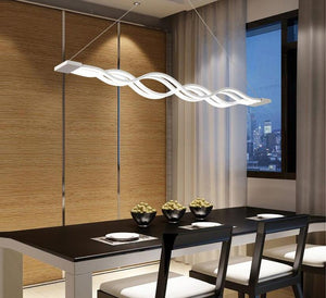 LED Wave Chandelier