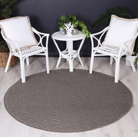 Sydney Charcoal Diamond Indoor Outdoor Rug