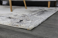 Vision Abstract Beige Grey Rug