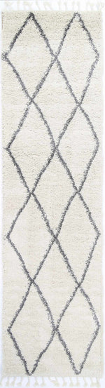 Kasbah Clara Diamond Tribal Cream Rug