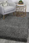 Arctic Plush Charcoal/Anthracite Shaggy Rug