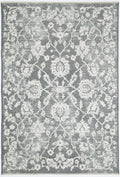 Rustic Vintage Classic, Amazing 2 In 1 Reversible Rug Grey