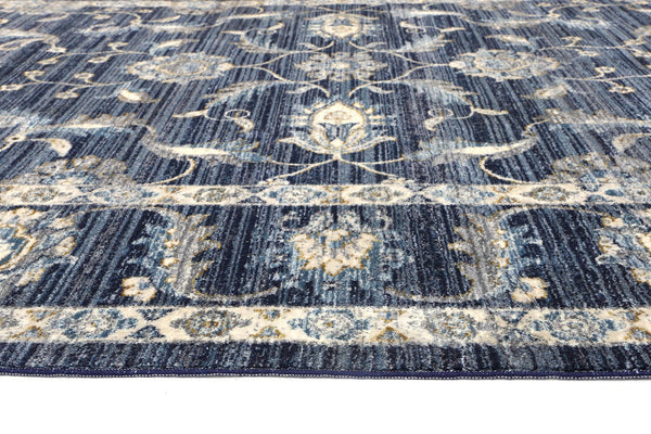 Atlanta Traditional Navy Rug